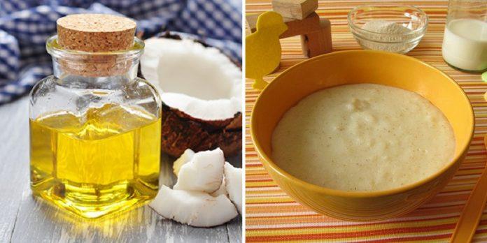 Cách làm dầu dừa cho bé ăn dặm
